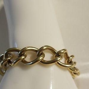 Vintage 80's link bracelet